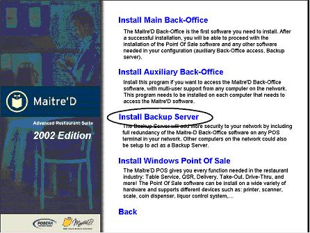 Installing Emergency Backup on Windows POS